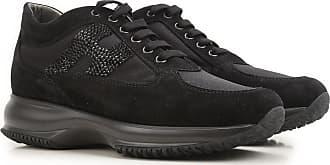 Hogan Sneakers for Women, Black, suede, 2019, 2.5 3 3.5 4 4.5 5.5 6 6.5 7 7.5