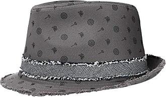 Made in Italy Herbst//Winter Hut mit geschwungener Krempe Bogarthut aus Wollfilz Kopfbedeckung mit Garniturband Lierys Barnell White Bogart Wollfilzhut Damen//Herren