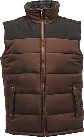 Regatta Mens Standout Altoona Insulated Bodywarmer Jacket (XXXL) (Otter/Black)