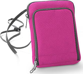 BagBase Bagbase Travel Bag / Wallet (One Size) (Fuchsia/Graphite)