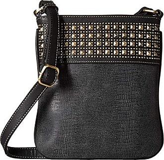M F Western Products Womens Calf Hair Canteen Crossbody Bag 9 1//2 x 2 1//2 N//A