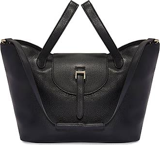 Meli Melo Meli Melo Thela Black Leather Tote Bag for Women