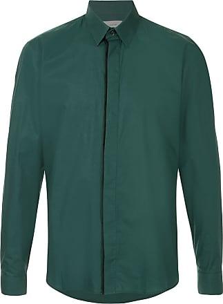 Cerruti classic curved hem shirt - Green