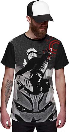 Di Nuevo Camiseta Naruto Uzumaki Kyubbi Kurama Bijuu Selo