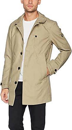 Manteau classique beige homme