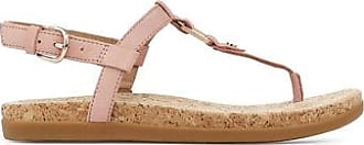 UGG Womens Aleigh Sandal in La Sunset, Size 7.5, Leather