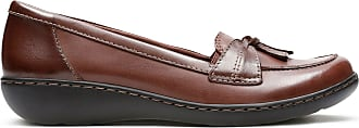 Clarks Womens Loafer Brown Multi Clarks Ashland Bubble Size 5.5