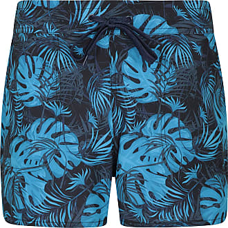 Mountain Warehouse Patterned Womens Board Shorts - Easy Care Ladies Swim Shorts, Adjustable Waist Beach Shorts, Lightweight Short Pants - for Surfing, Pool & Swimming Pa