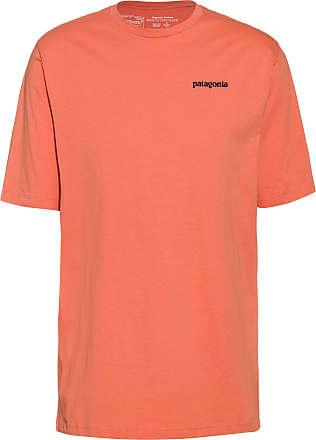 Patagonia P-6 Logo T-Shirt Herren in mellow melon, Größe XXL