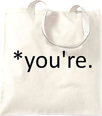 Tim And Ted Correction of the Proper Youre Funny Tote Bag Joke - (White/One Size)