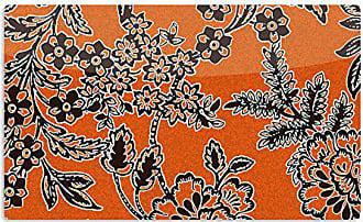 KESS InHouse Vikki SalmelaBlossom Orange Black Artistic Aluminum Magnet, 2 by 3, Multicolor