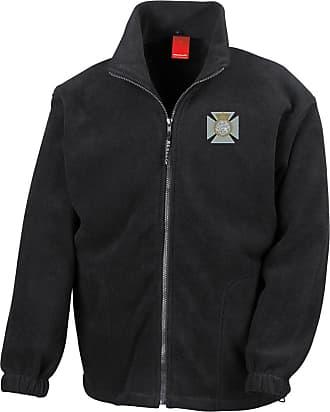 Military Online The Duke of Edinburghs Royal Regiment Embroidered Logo - British Army Infantry - Official - Full Zip Heavyweight Fleece Jacket