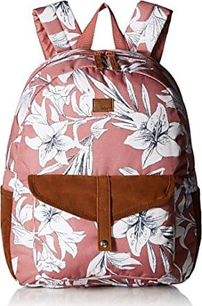 Roxy Juniors Carribean Printed Backpack, withered rose lily house, One Size