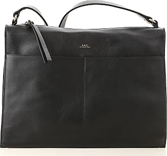 A.P.C. Shoulder Bag for Women On Sale, Black, Leather, 2017, one size