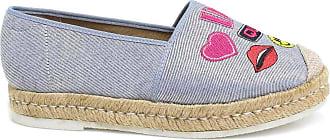 Zariff Sapatilha Zariff Shoes Alpargata Jeans Patches