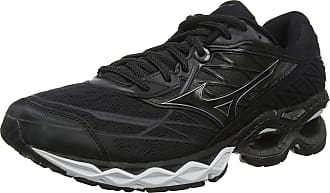 Mizuno Mens Wave Creation 20 Running Shoes, Black (Black/Black/Dark Shadow 12), 11.5 (46.5 EU)