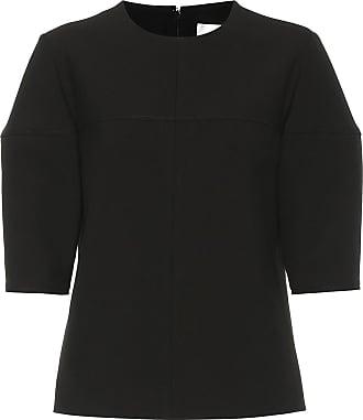 Victoria Beckham Structured-sleeve stretch top
