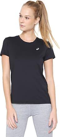 Asics Camiseta Asics W Core Running Pa Ss Tee Preta