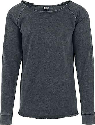 b39c4b92c827 Urban Classics Long Burnout Open Edge Crewneck - Sweat-shirt - Sweat-shirt -