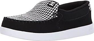 DC Womens Villain SE Slip-On Skate Shoe White/Black, 5 B B US