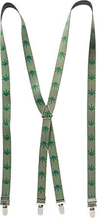 Buckle Down Buckle-Down Mens Suspender-Weed, Multicolor, One Size