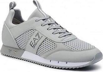 Emporio Armani EA7 Black & White Laces Mens (10 UK, Grey/Navy)