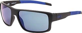HB Óculos de Sol Hb Epic 9013271087/58 Preto Fosco com Azul