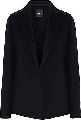 Theory Theory Woman Wool And Cashmere-blend Blazer Midnight Blue Size 8
