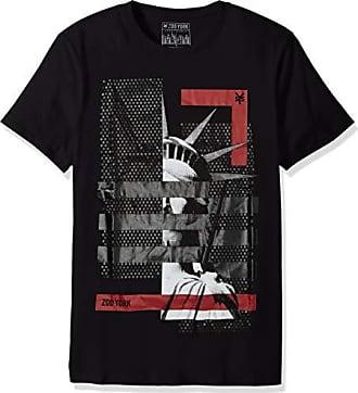 Zoo York Mens Short Sleeve Crew Neck Shirt, Isolation Black, Medium