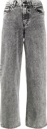 Diesel Calça jeans pantalona - Cinza