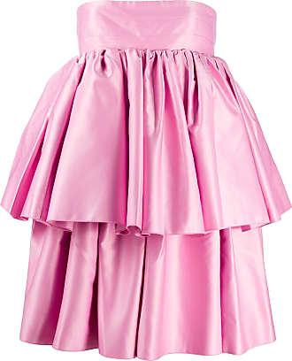 Rotate Vestido com sobreposição - Rosa