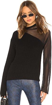 Rta Franny Turtleneck Sweater in Black