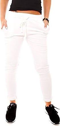 c12224e3493684 Easy Young Fashion Damen Vintage Sweat Jersey Sport Relax Hose Sweatpants  Jogginghose Joggpants Jogger Lang Baumwolle