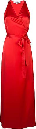 Diane Von Fürstenberg Vestido longo sem mangas - Vermelho