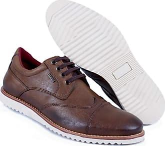 Hype Sapato Casual Masculino Oxford Hype Em Sintético 1004 (37, Castor)