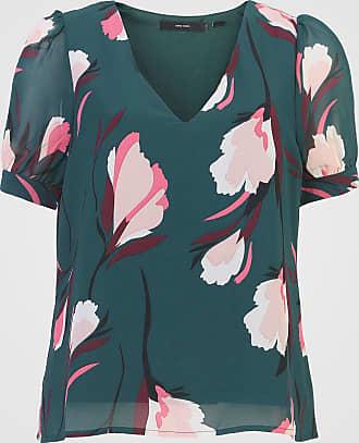 Vero Moda Blusa Vero Moda Floral Verde