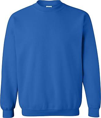 Gildan Mens Heavy Blend Crewneck Sweatshirt Royal