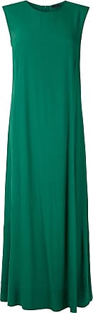 Osklen panelled Loose dress - Green