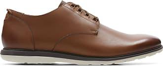 Clarks Mens Shoe Tan Leather Clarks Glaston Walk Size 10.5