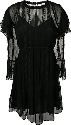 Iro Western ruffle dress - Preto