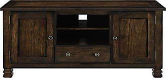 Dorel Home Products Ameriwood Home Summit Mountain Wood Veneer TV Stand for TVs up to 55 Wide, Espresso