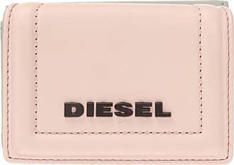 Diesel Branded Leather Wallet Womens Pink