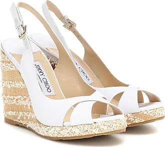 Jimmy Choo London Amely 105 platform wedge sandals