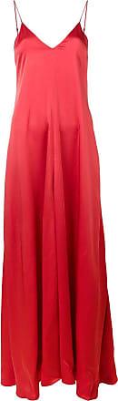 Forte_Forte Vestido longo - Vermelho