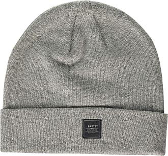 Barts Mens ADRANO Beanie Hat, Grigio (Heather Grey 0002), One Size