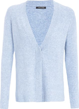 Animale Cardigan Tricot Com Fenda - Azul