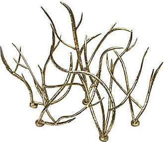 Sagebrook Home 11034 Metal Branch Table Sculpture, Gold Metal, 25 x 12.5 x 17 Inches