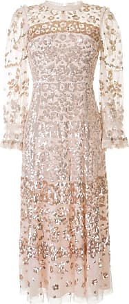 Needle & Thread sequin embellished tulle dress - PINK
