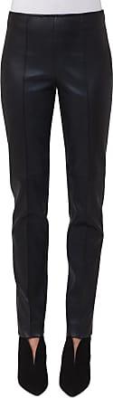 Akris Slim Cut Leather Pants