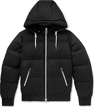 Ami Quilted Cotton-shell Hooded Down Jacket - Black